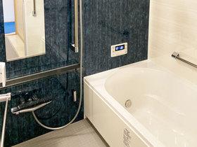 バスルームリフォーム洗濯物も干せる快適なバスルーム